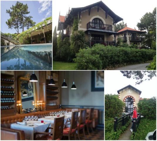 Hotel mit Schwimmbad in Arcachin Villa d'Hiver