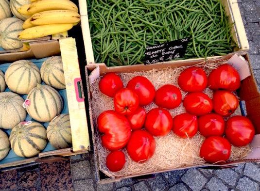 tomaten markt Frankreich