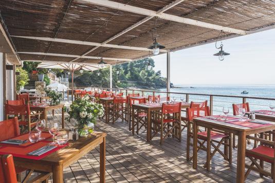 restaurant L'Escale Côte d'Azur Le Bailli