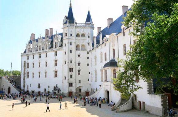 Chateau des Ducs Nantes Frankreich