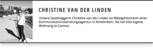 Christine Van Der Linden Gastblogger