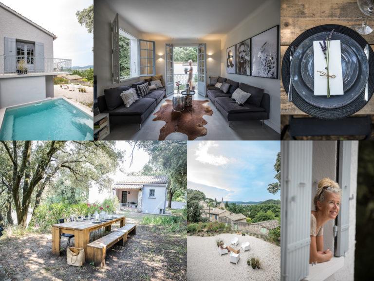 Campingplatz und Villa direkt am Fluss in Südfrankreich