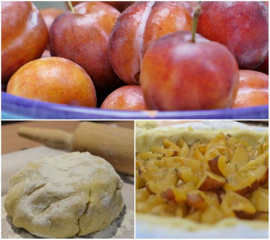 Caroles Pflaumenkuchen Vorbereitung