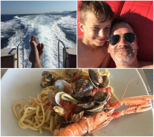 Bootsfahrt Süd-Korsika