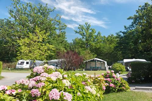 Les Castels camping Parc de Fierbois