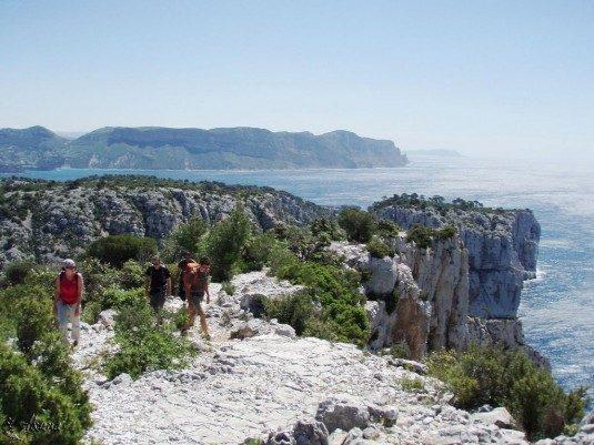 aufregende Wanderwege Frankreich Calanques