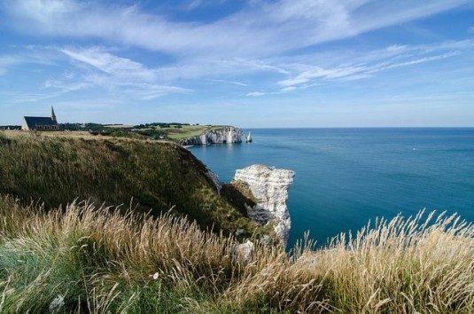 aufregende Wanderwege Frankreich Etretat