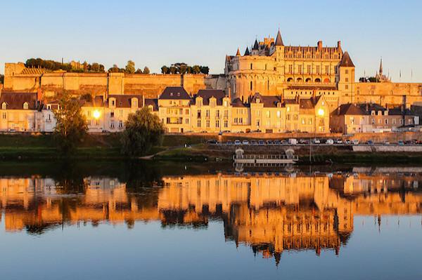 Die Schlösser der Loire, hier Amboise