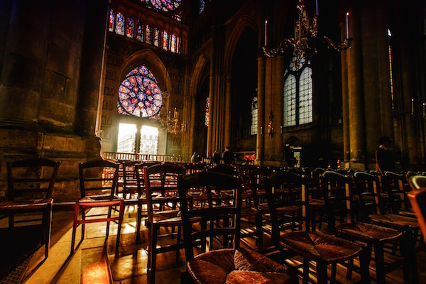 Kathedrale von Reims und Bischofspalast