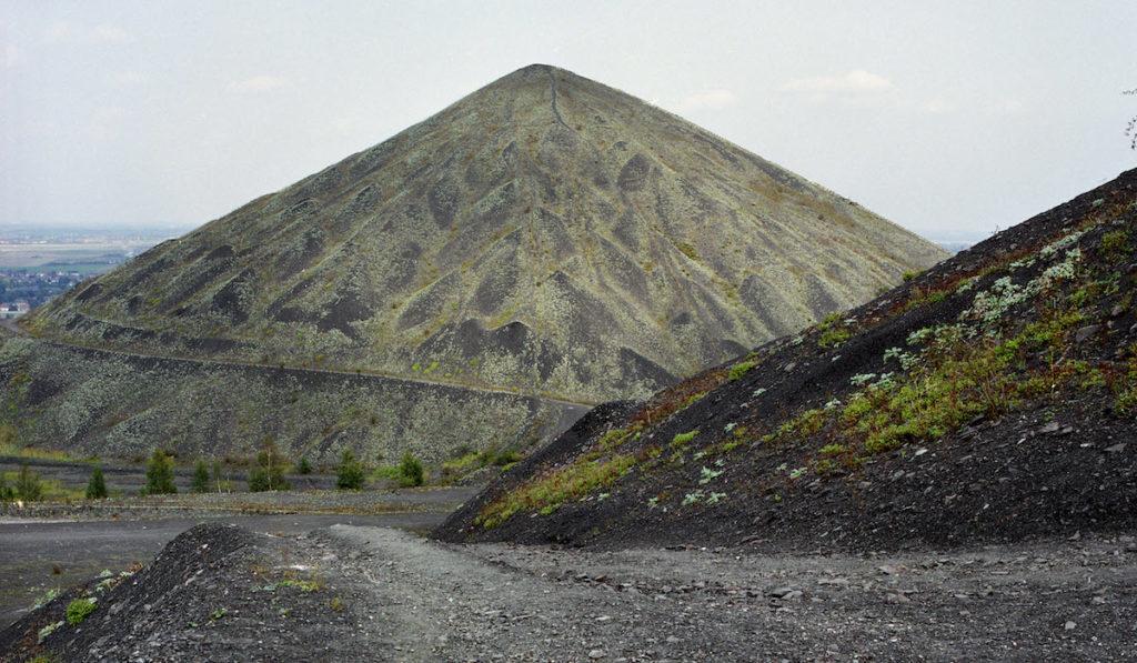 Die Minenberge und andere Orte im früheren Kohlenrevier von Nord-Pas de Calais