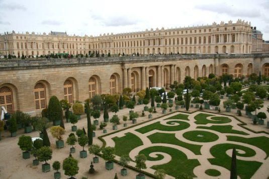 Château de Versailles und die Gärten von Le Notre