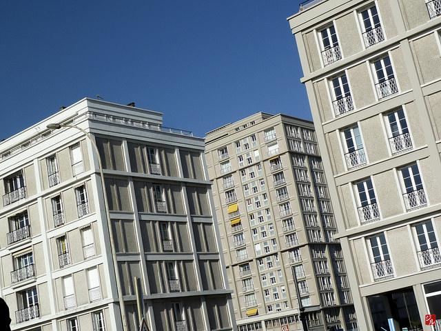 Die Nachkriegsarchitektur des Architekten Auguste Perretin Le Havre