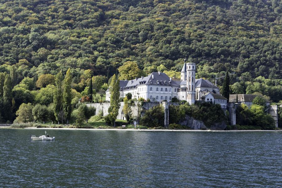Abtei Hautecombe am Lac du Bourget
