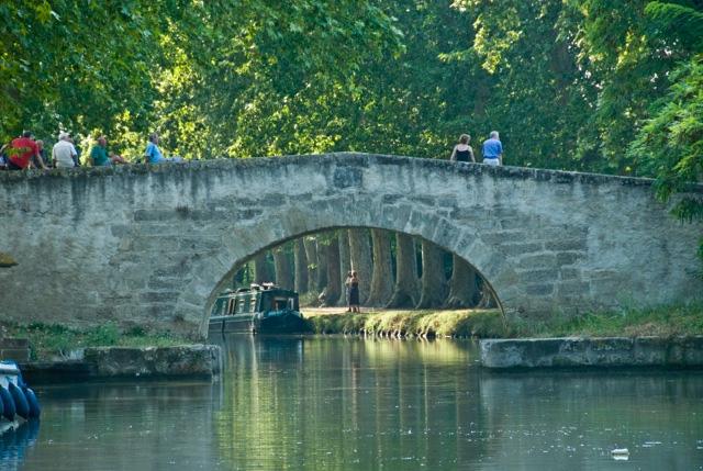 Der 241 km lange Canal du Midi