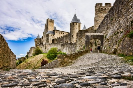 Die mittelalterliche Festung von Carcassonne