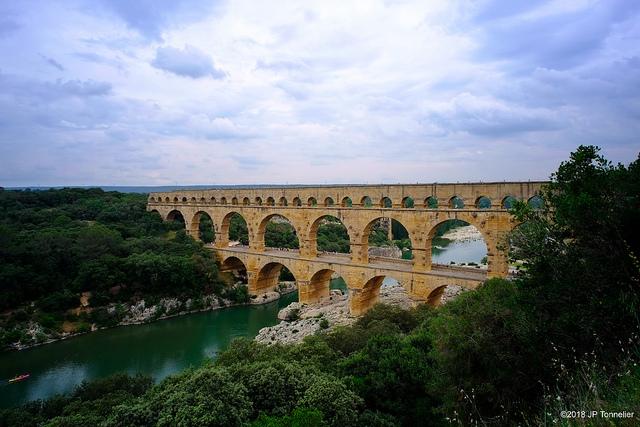 Pont du Gard bei Uzès