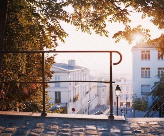 Montmartre im Herbst