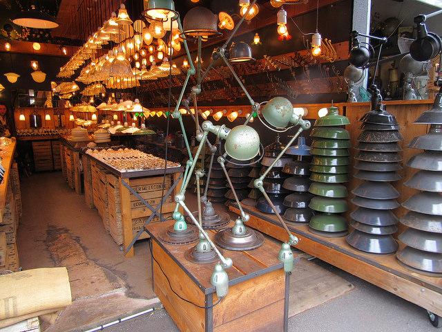 Bummeln und Mittagessen auf dem Flohmarkt Puces de Saint-Ouen