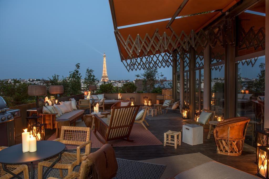 Brach hotel neues Starck hotel Paris