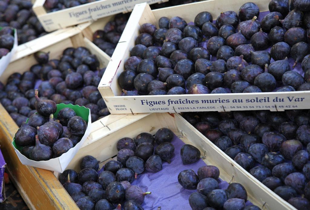 Feigen Provence Frankreich Produkten der Saison
