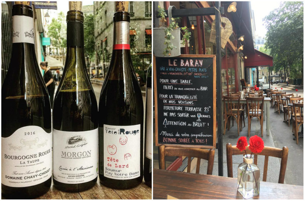 Le Barav Weinbar Haut Marais Paris