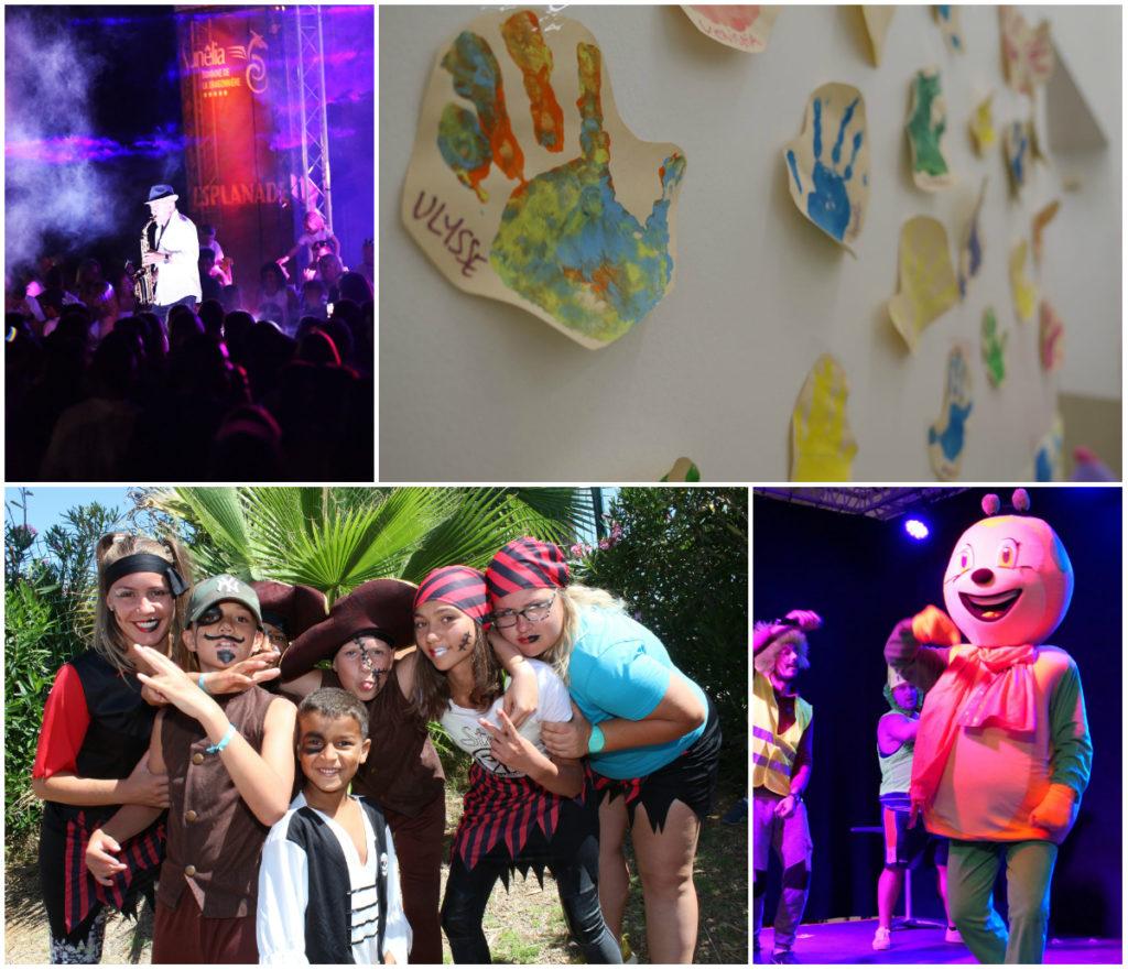 Sunny-Kinderclub: Animation von morgen bis abends
