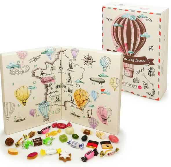 Adventskalender Süßigkeiten Frankreich