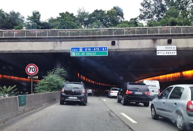 Autobahnring Paris 70km/h