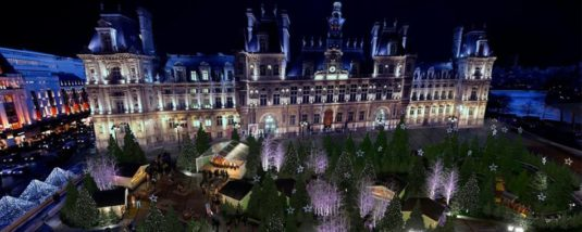 Weihnachstmarkt Paris Mairie