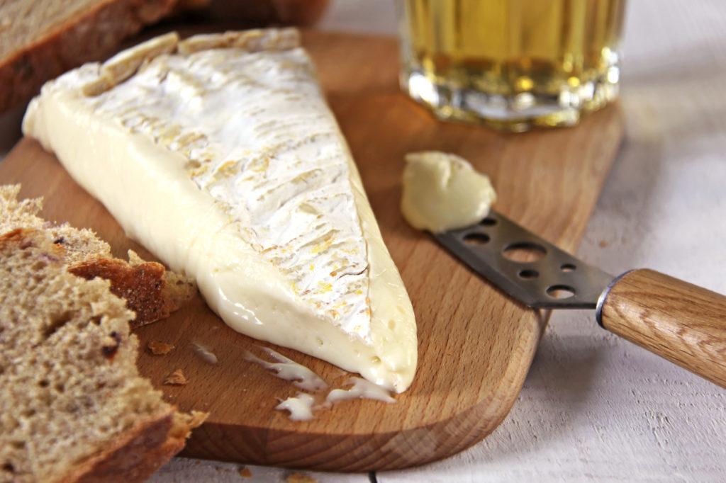 Brie de Meaux Käse-Stinker