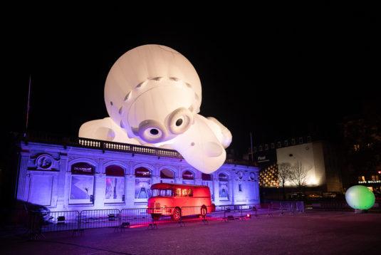 Anooki Fête des Lumières Lyon