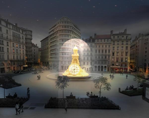 Place des Jacobin Fête des Lumières
