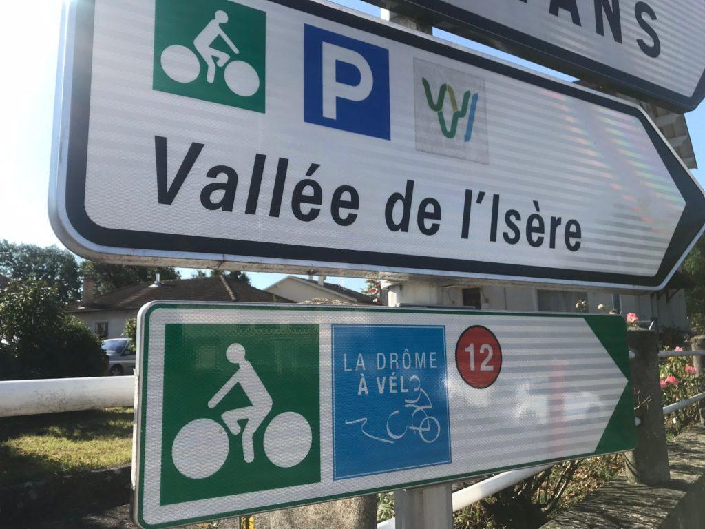 Vallée de l'Isère Veloroute