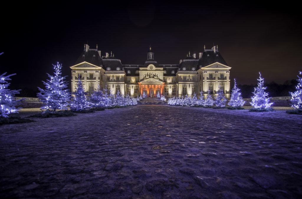 Weihnachts-Schloss Vaux le Vicomte
