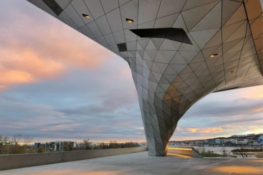 Museum in Lyon - Confluences