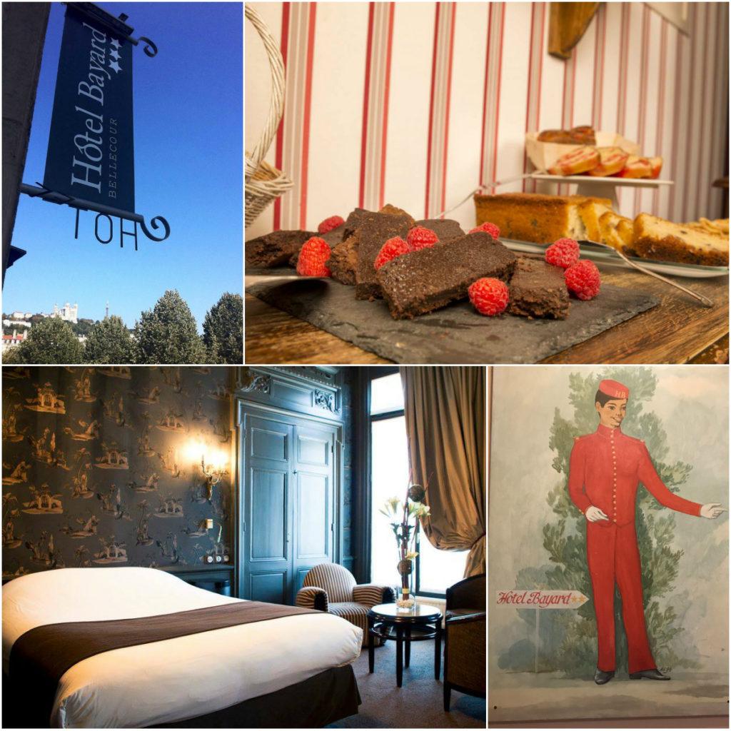 Hotel Bayard in Lyon - Fete des Lumieres
