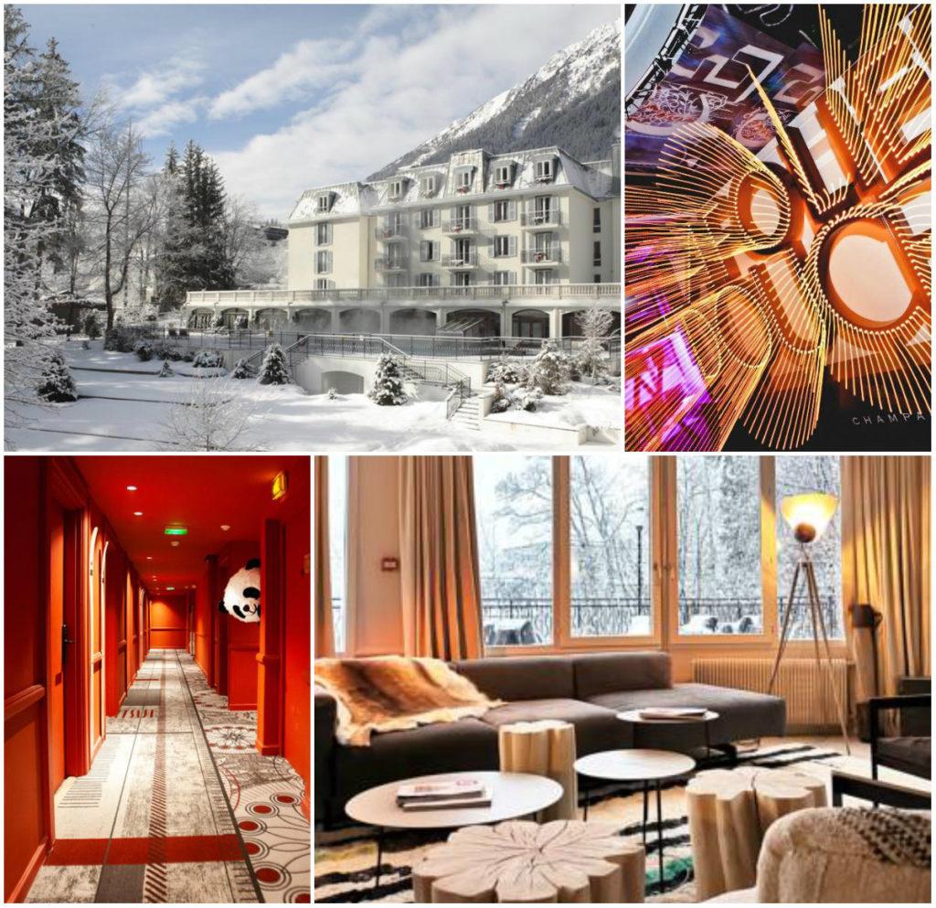 Neues Hotel in Chamonix Mont Blanc