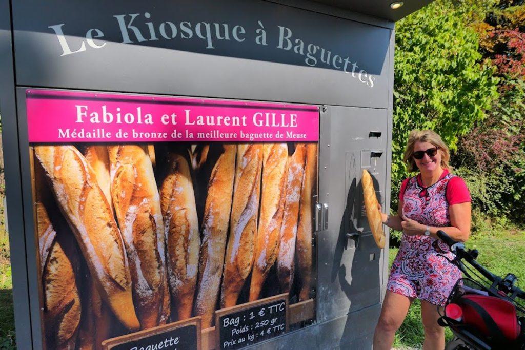 Baguette-Automaten (Meuse)