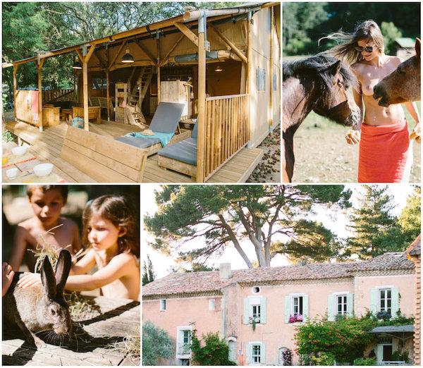 FKK-Campingplätze Domaine Bélezy Provence Vaucluse Mont Ventoux