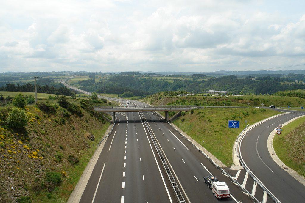 Frankreich Autobahn A75