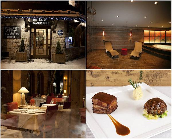 Le Samoyede in Morzine romantisches Hotel in Les Portes du Soleil