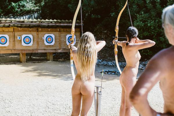 La Sablière Nudisten Camping frankreich