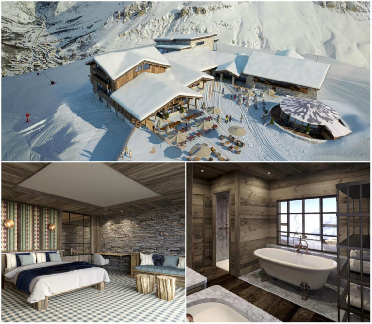Romantisches Hotel in Val d'Isere