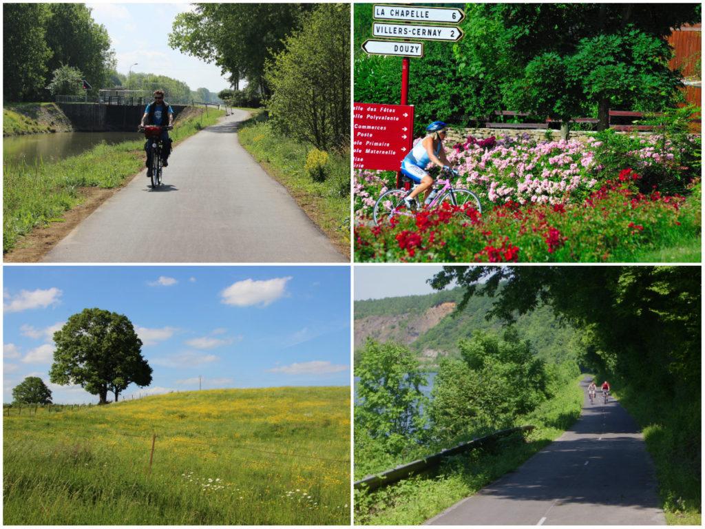 Voie verte Radfahren in den französischen Ardennen