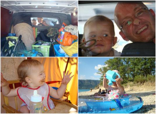 Mit dem Baby und Kind auf dem Campingplatz