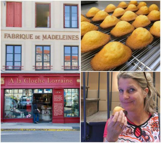 Commercy madeleines