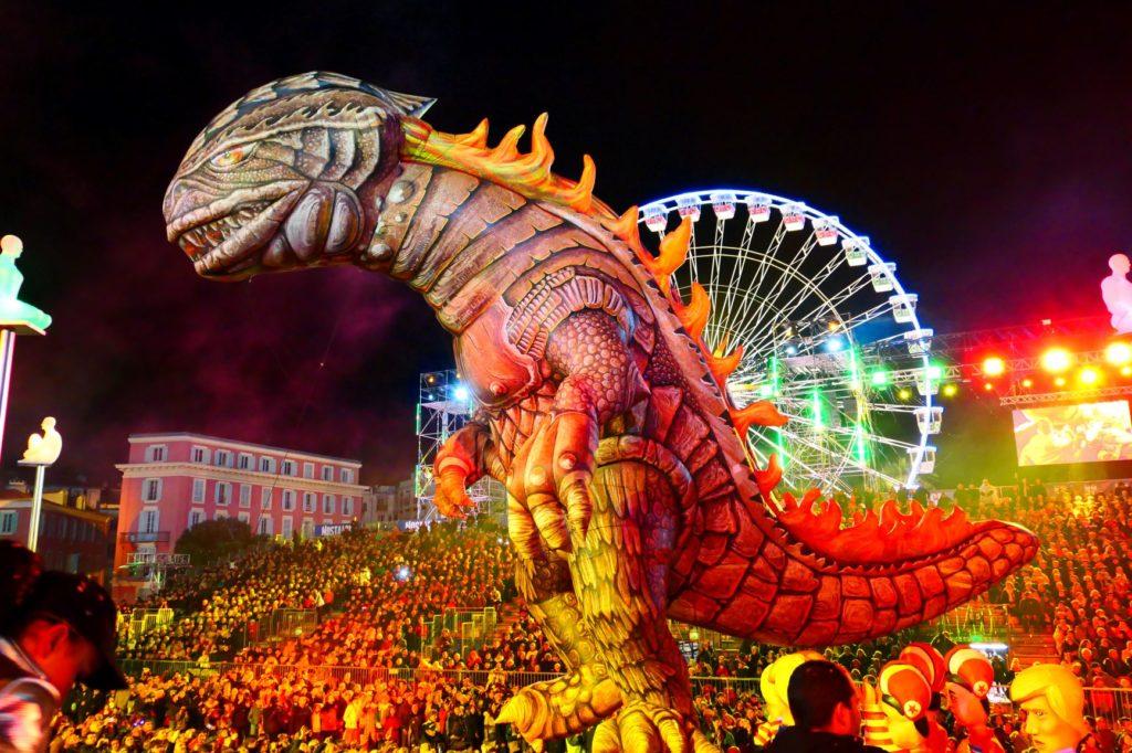 Karneval von NIzza - Nacht