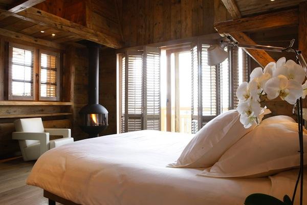 Romantisches Hotel in den Alpen Servages d'armelle