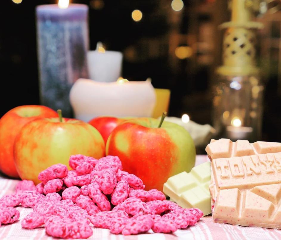 Lyoner Kuchen mit Äpfeln und Zuckermandeln