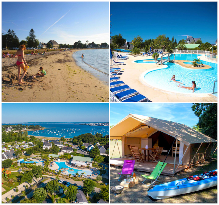 Camping am meer Le Cabellou